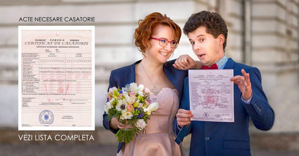 Acte necesare pentru casatorie in 2021 si 2022 - fototime