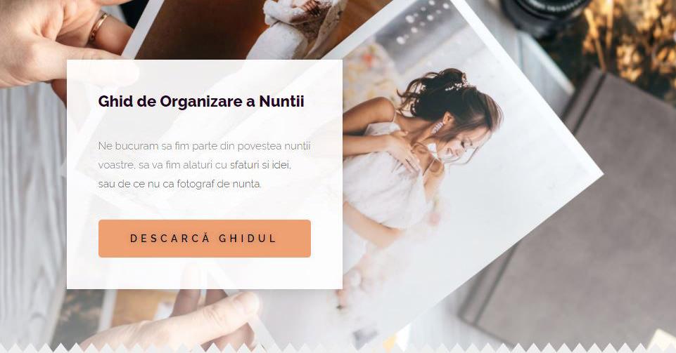Ghid de Organizare a Nuntii - FotoTime.ro